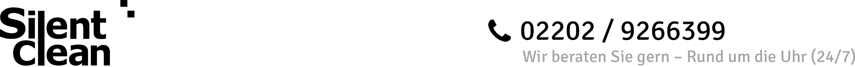 Silent Clean Logo für Seitenausdruck