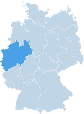 Deutschlandweit für Sie im Einsatz – mit einem gewissen Fokus auf Nordrhein-Westfalen – Unsere Einsatz-Teams für Tatort- und Spezialreinigungen.