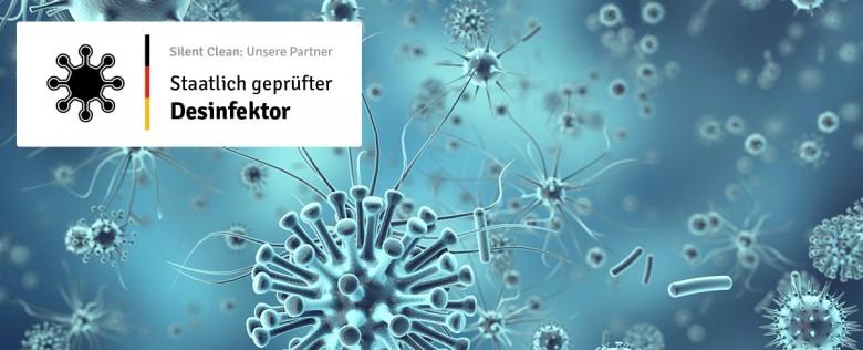 Desinfektionen vom Experten – staatlich geprüfter Desinfektor
