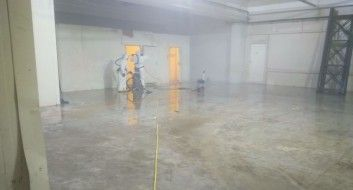 Reinigung Kühllagerhaus