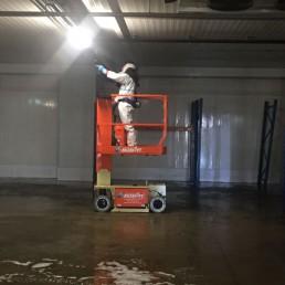 Kühllagerhaus Spezialreinigung für Industrie und Gewerbe von Silent Clean