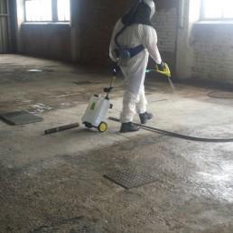 Reinigung Industriegebäude – Taubenkotentfernung