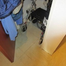 Nachher: Reinigung Sturzunfall und Todesfall durch Blutverlust