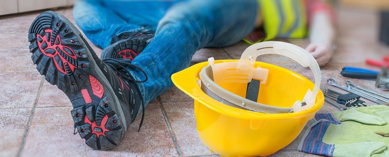 Unfallortreinigung, Reinigung nach Verletzungen und Betriebsunfall, Blutverlust etc.