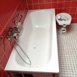Nachher: Wiederherstellung der Nutzbarkeit eines Badezimmers
