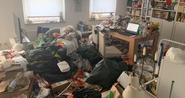 Messie Wohnung Entrümpelung Beispiel