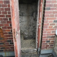 Denkmalschutz: Taubenkotbeseitigung, Dachzugang